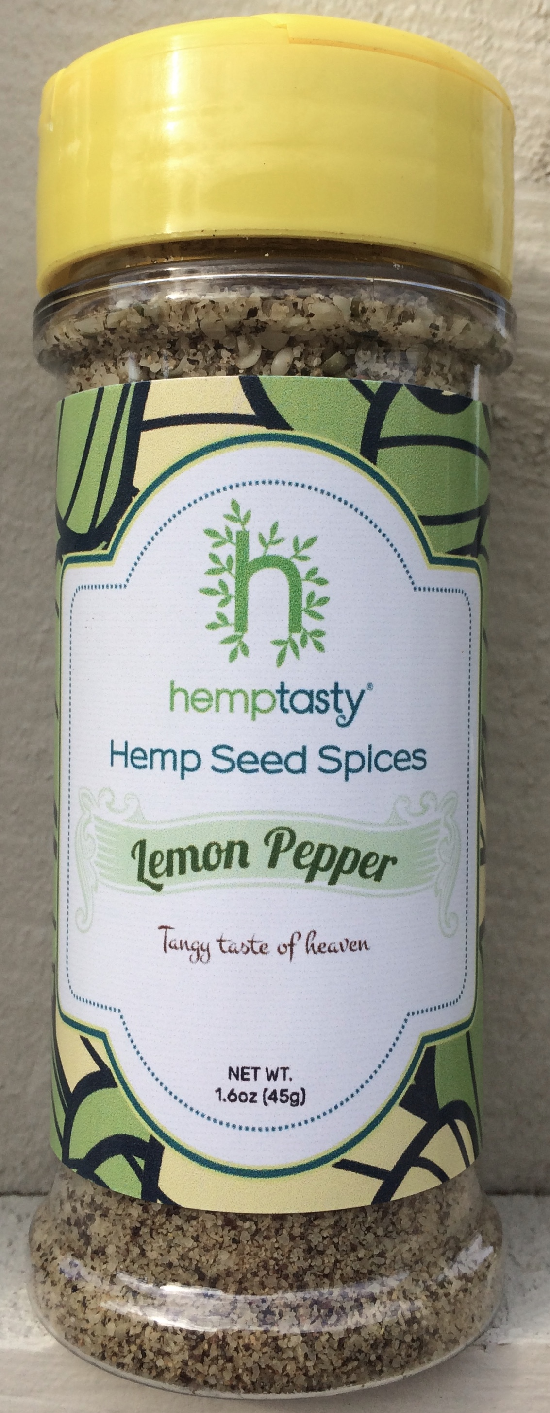 Hemp Tasty Hemp Heart Seed Lemon Pepper Seasoning Blend