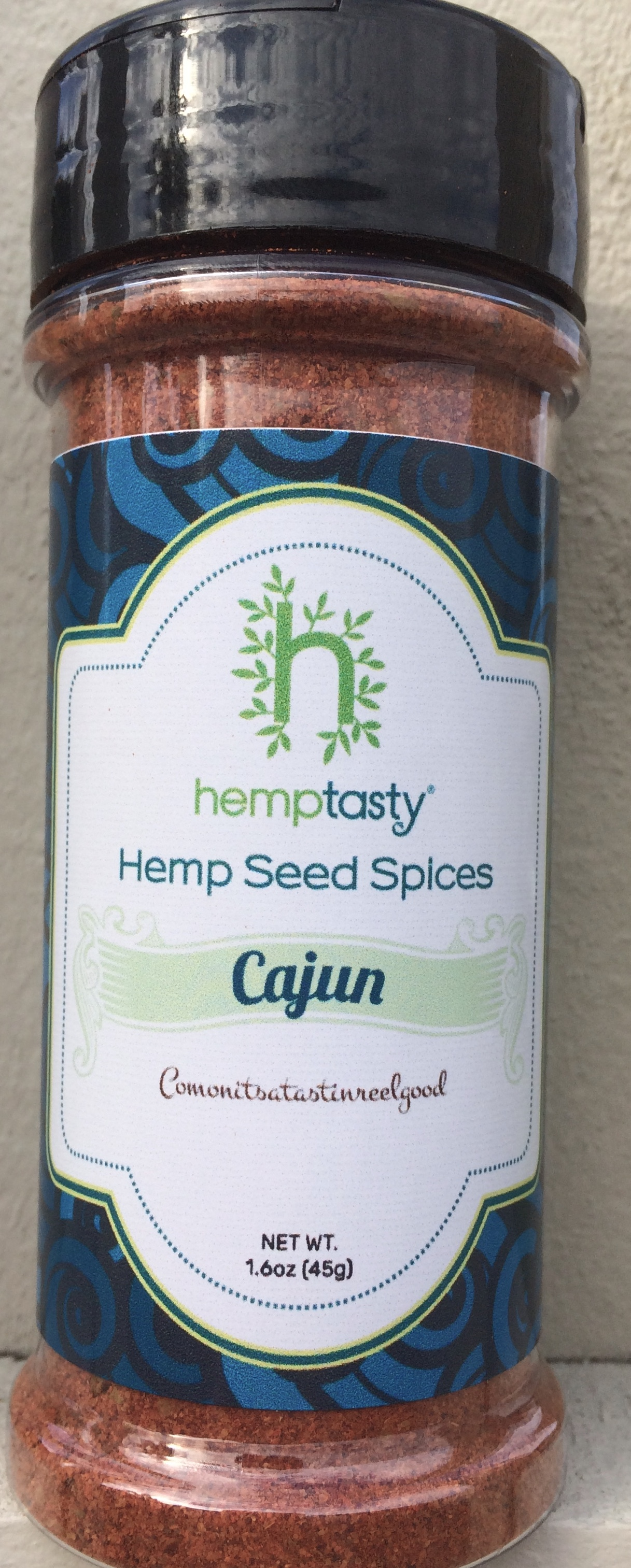 Hemp Tasty Hemp Heart Seed Cajun Seasoning Blend