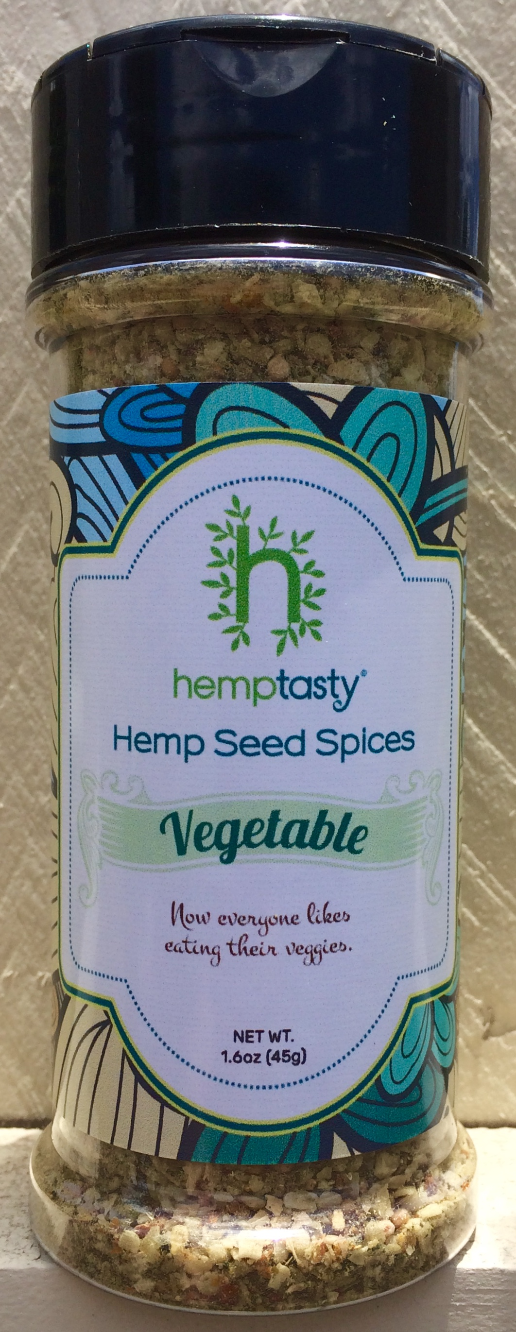 Hemp Tasty Hemp Heart Seed Vegetable Seasoning Blend